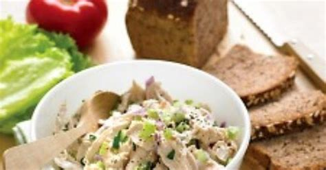 Chicken Lit No Really by The Bestest Recipes Lighter Chicken Salad