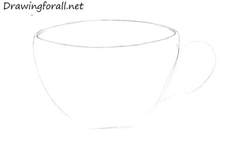 Teacup Outline Drawings by How To Draw A Cup Drawingforall Net