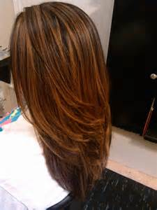 high and low highlights on hair balayage caramel les mod 232 les les plus fashion coiffure