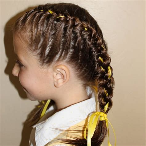 cute hairstyles for long hair for kids and for 8 year oldsfor short hair braided hairstyles for little girls