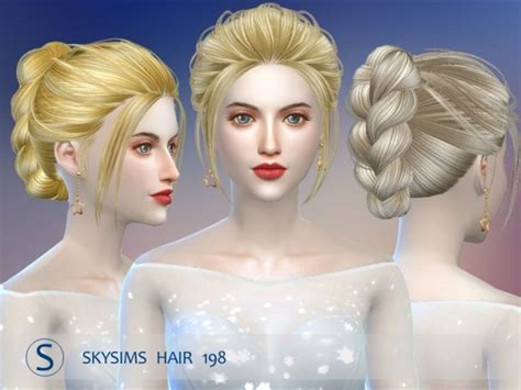 butterfly sims hair sims 4 hair 198 pay by skysims at butterfly sims 187 sims 4 updates