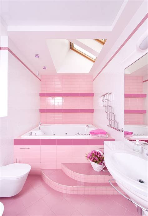Decorating Ideas For A Pink Bathroom Pin By Psychedelic0211 On Home