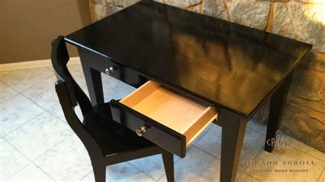 Child S Writing Desk by Black Childs Desk And Chair Pinandscroll