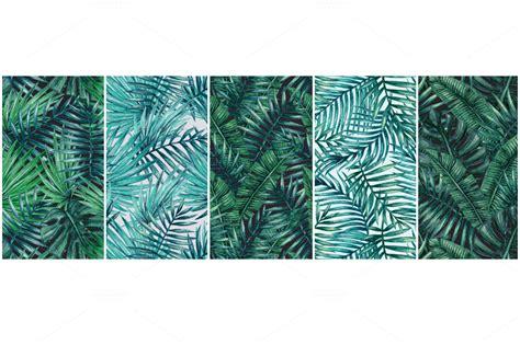 o patterns 10 lush palm tree leaves patterns psdblast