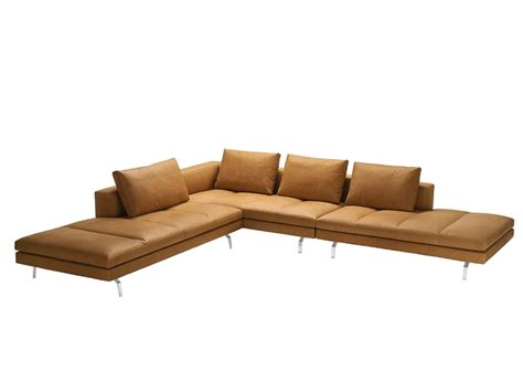 zanotta sofa sectional sofa with removable cover bruce by zanotta