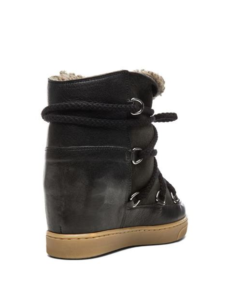 marant 201 toile nowles concealed wedge lined ski