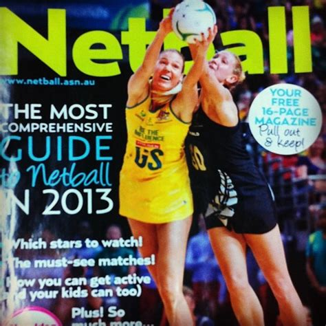 ideas mag we hope you grabbed your free copy of our netball guide in