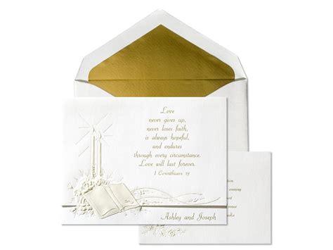Religious Wedding Invitations Christian Wedding Invitation Wording Archives The Wedding Specialists