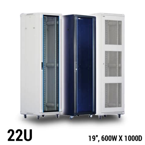 22u Server Rack Cabinet by Toten Equipment Rack Cabinet 22u 19 Quot W600 X D1000mm