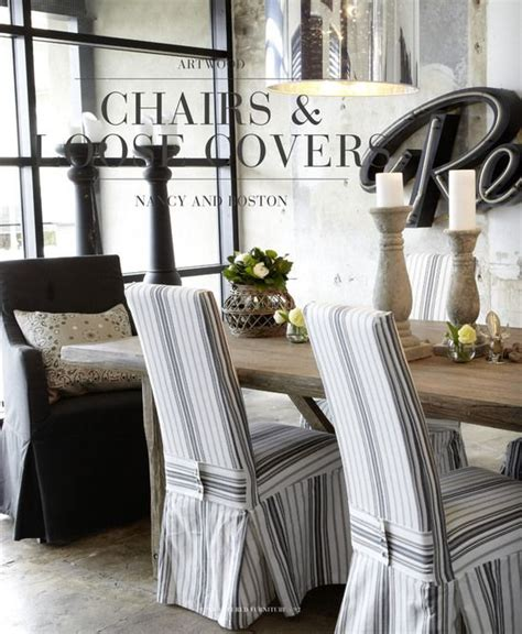 slipcovered dining chairs farmhouse table   home   pinterest dining slipcovers  dining chairs
