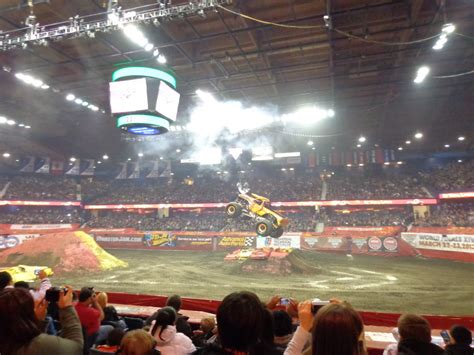monster truck show allstate arena review and photos advance auto parts monster jam 174 at