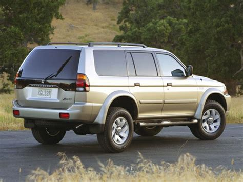 mitsubishi car 2002 2002 mitsubishi montero sport reviews specs and prices