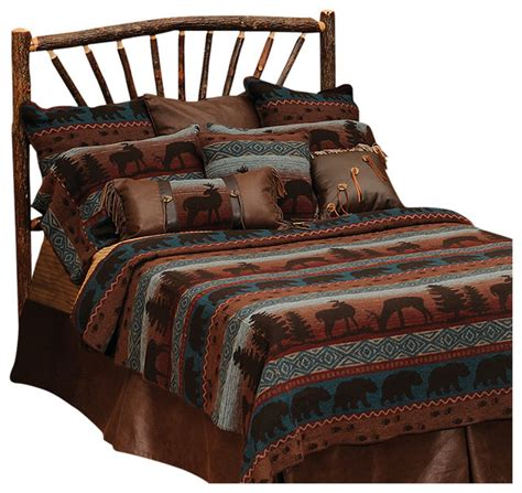 deer meadow bedspread rustic quilts and quilt sets