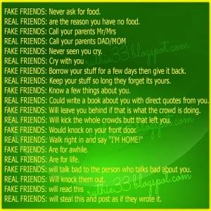 fake friends  real friends quotes quotesgram