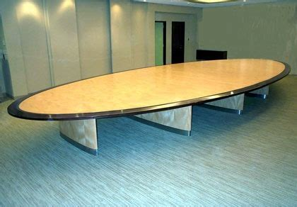 White Oval Meeting Table Custom Wood Conference Room Tables Hardroxhardrox