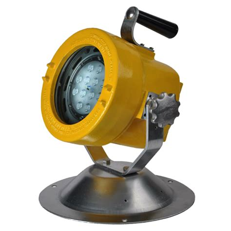 intrinsically safe lights explosion proof swivel mounted explosion proof light led western
