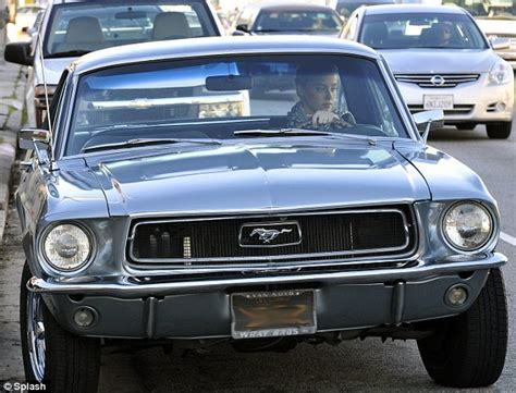 cars com actress amber heard takes her favourite mustang muscle car for a