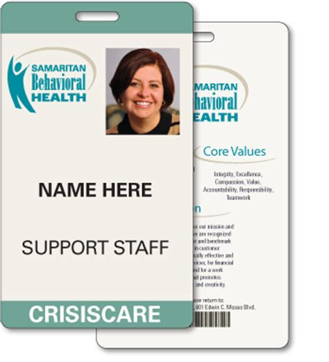Plastic Healthcare Products Ilc Hospital Id Badge Template