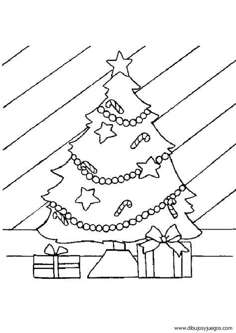 dibujo de arbol navidad 015 dibujos y juegos para