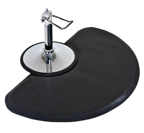 Floor Mats For Salon Chairs by Anti Fatigue Semi Circle Hair Stylist Mat Salon
