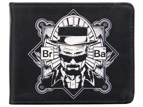 Breaking Bad Black Tees Limited breaking bad heisenberg elements black wallet ebay