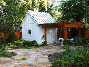 tack on a pergola for entertaining 8 she shed design