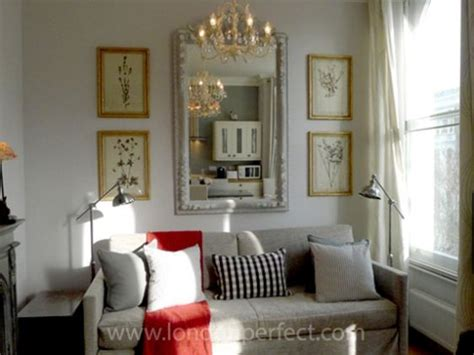 oversized above sofa sofa and large mirror great decorating ideas