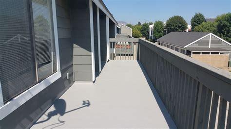 repairing  waterproofing  residential plywood deck