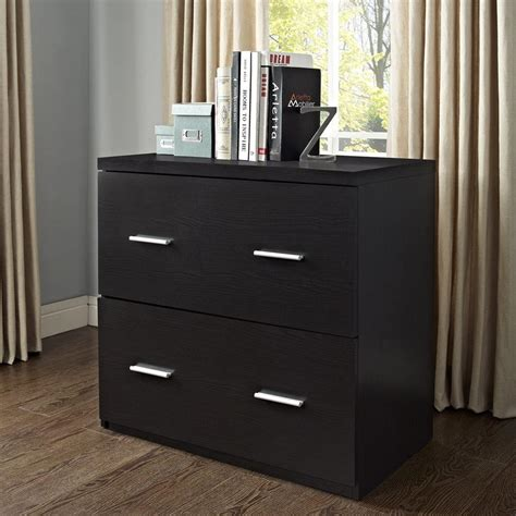 lateral file cabinet with storage 2 drawer durable espresso lateral file filing cabinet