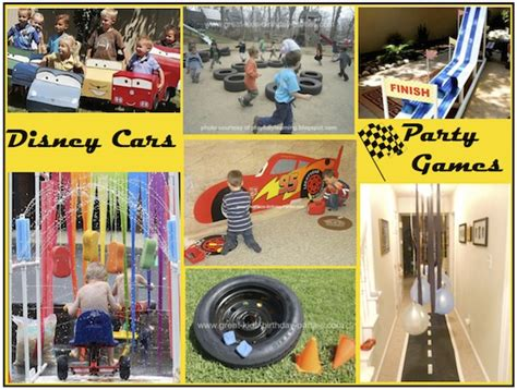cars themed birthday games disney cars birthday party