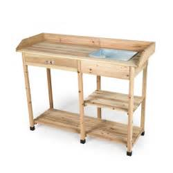 large potting bench ellister potting table with drawer large on sale fast