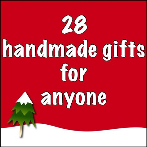 just crafty enough handmade holiday gifts for anyone
