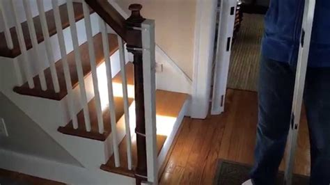 baby gate banister baby gate to banister with no drilling youtube
