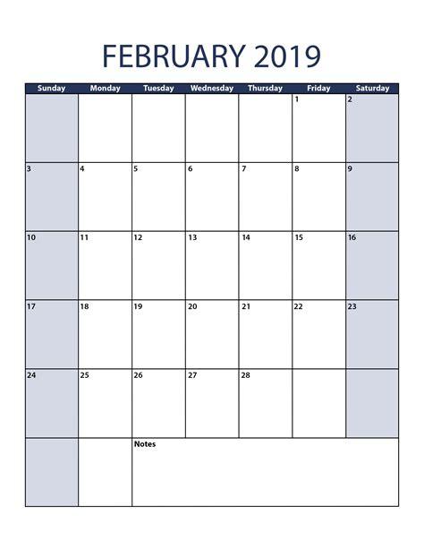 printable calendar 2018 calendarpedia february 2019 calendar template free printable calendars