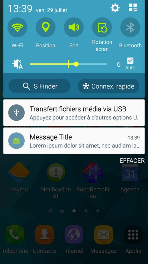 layout app not working firebase android notifications not expanded when app in