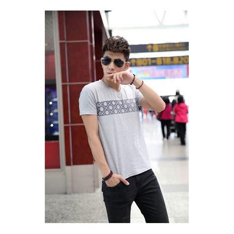 Model Baru Celana Pendek Kasual Pria Twill Stretch Abu Tua Cln 1127 P jual kaos pria korea