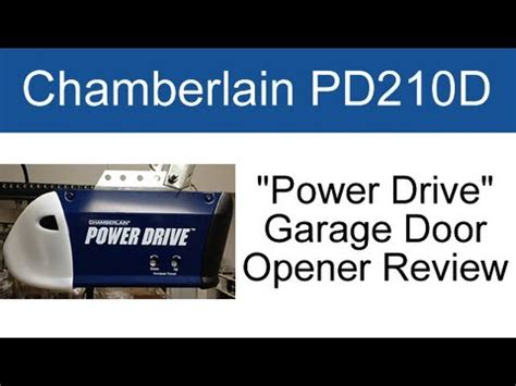Garage Door Openers Ratings Chamberlain Pd210d Garage Door Opener Review