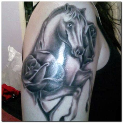 horse tattoos ideas designs amp meaning busbones