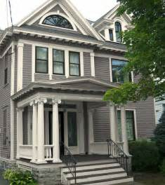 house paints classic revival exterior paint colors traditional exterior new york by old house guy llc