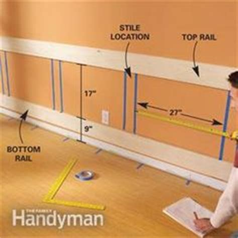 Make Your Own Wainscoting by 1000 Images About Wainscoting Wall Panels Doors Plus