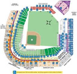 coors field seating chart map coors field mappery
