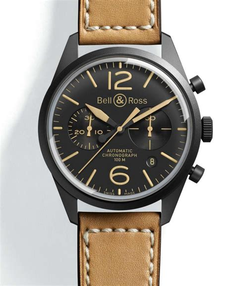 Bell Ross Bell Ross Vintage Collection Timepiece Rebirth Of A Classic Aviators Extravaganzi
