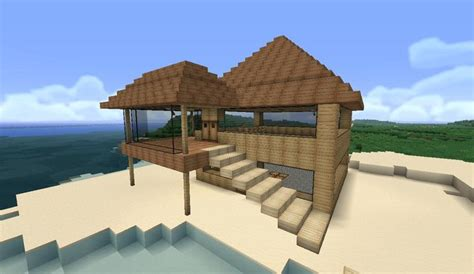 easy homes to build minecraft easy to build modern house google search