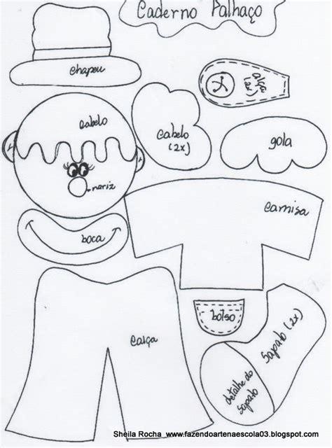 molde de payaso en cartulina kit cuaderno y l 225 piz payaso manualidades en goma eva y foami