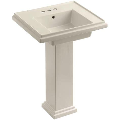 Pedestal Sink And Toilet Combo Kohler Memoirs Ceramic Pedestal Combo Bathroom Sink In