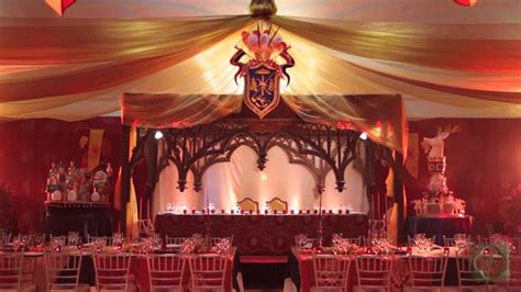 game  thrones themed wedding ambiance  pido youtube