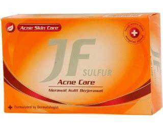 Sabun Deo Sulfur 4 sabun yang bagus untuk hilangkan jerawat pada wajah dan
