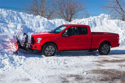 ford plow snow