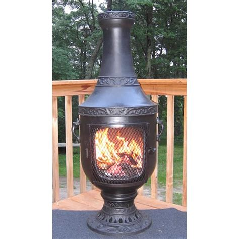 blue rooster chiminea 57 best images about backyard ideas on