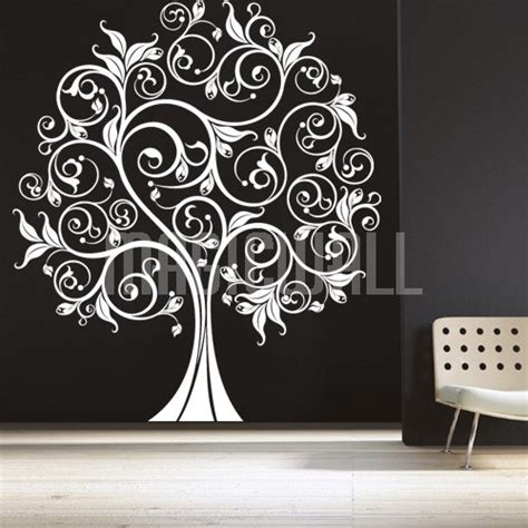 tree sticker for wall tree wall decal 2017 grasscloth wallpaper